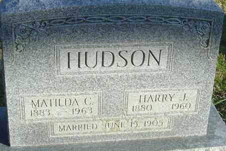 HUDSON, HARRY J - Franklin County, Ohio | HARRY J HUDSON - Ohio Gravestone Photos