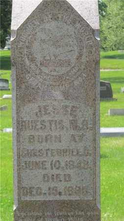 HUESTIS, JESSE - Franklin County, Ohio | JESSE HUESTIS - Ohio Gravestone Photos
