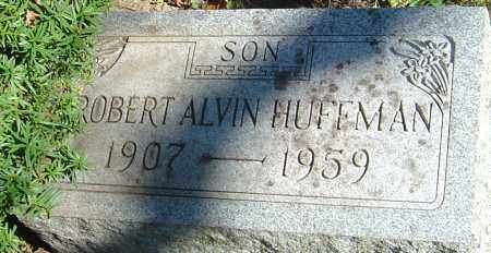 HUFFMAN, ROBERT ALVIN - Franklin County, Ohio | ROBERT ALVIN HUFFMAN - Ohio Gravestone Photos