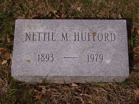 HUFFORD, NETTIE M. - Franklin County, Ohio | NETTIE M. HUFFORD - Ohio Gravestone Photos