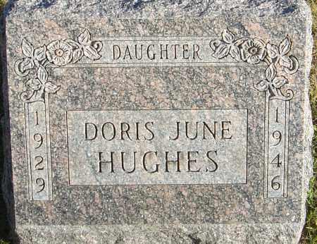 HUGHES, DORIS JUNE - Franklin County, Ohio | DORIS JUNE HUGHES - Ohio Gravestone Photos