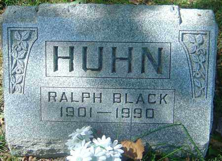 HUHN, RALPH BLACK - Franklin County, Ohio | RALPH BLACK HUHN - Ohio Gravestone Photos