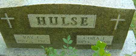 HULSE, CORA E - Franklin County, Ohio | CORA E HULSE - Ohio Gravestone Photos