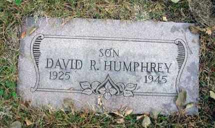 HUMPHREY, DAVID R. - Franklin County, Ohio | DAVID R. HUMPHREY - Ohio Gravestone Photos