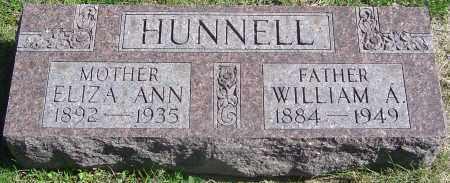 ENGLAND HUNNELL, ELIZA ANN - Franklin County, Ohio | ELIZA ANN ENGLAND HUNNELL - Ohio Gravestone Photos
