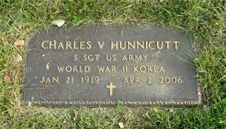 HUNNICUTT, CHARLES V. - Franklin County, Ohio | CHARLES V. HUNNICUTT - Ohio Gravestone Photos