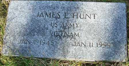 HUNT, JAMES E - Franklin County, Ohio | JAMES E HUNT - Ohio Gravestone Photos