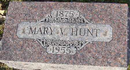 HUNT, MARY V - Franklin County, Ohio | MARY V HUNT - Ohio Gravestone Photos