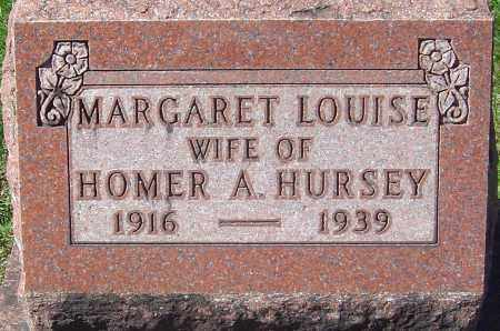 HURSEY, MARGARET LOUISE - Franklin County, Ohio | MARGARET LOUISE HURSEY - Ohio Gravestone Photos