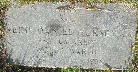 HURSEY, REESE DANIEL - Franklin County, Ohio | REESE DANIEL HURSEY - Ohio Gravestone Photos