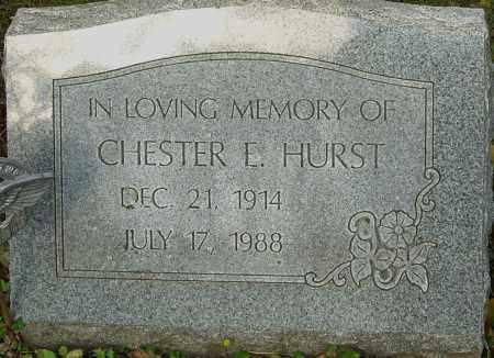 HURST, CHESTER - Franklin County, Ohio | CHESTER HURST - Ohio Gravestone Photos