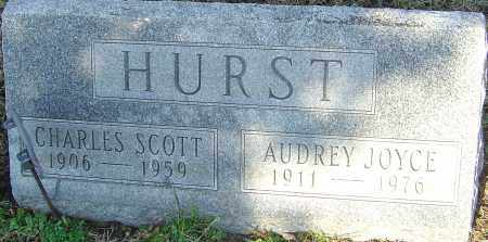 HURST, CHARLES SCOTT - Franklin County, Ohio | CHARLES SCOTT HURST - Ohio Gravestone Photos