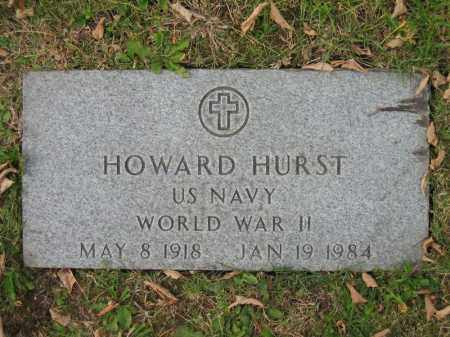 HURST, HOWARD - Franklin County, Ohio | HOWARD HURST - Ohio Gravestone Photos