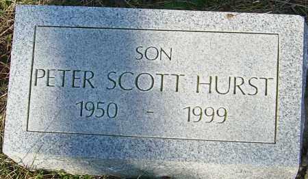 HURST, PETER SCOTT - Franklin County, Ohio | PETER SCOTT HURST - Ohio Gravestone Photos