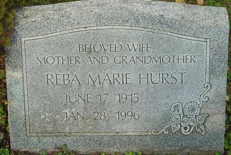 HURST, REBA - Franklin County, Ohio | REBA HURST - Ohio Gravestone Photos