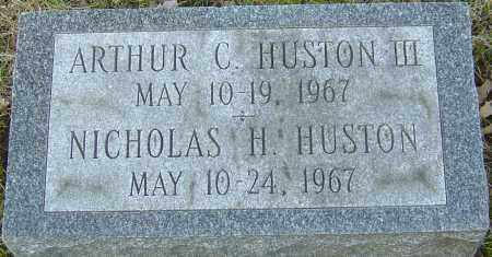 HUSTON, NICHOLAS - Franklin County, Ohio | NICHOLAS HUSTON - Ohio Gravestone Photos