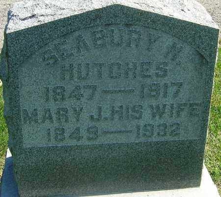 TAYLOR HUTCHES, MARY J - Franklin County, Ohio | MARY J TAYLOR HUTCHES - Ohio Gravestone Photos