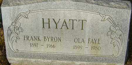 HYATT, FRANK BYRON - Franklin County, Ohio | FRANK BYRON HYATT - Ohio Gravestone Photos