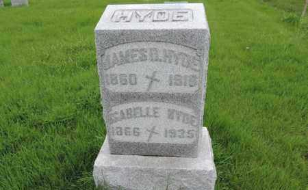 HYDE, SABELLE - Franklin County, Ohio | SABELLE HYDE - Ohio Gravestone Photos