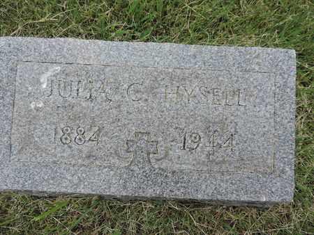 HYSELL, JULIA C. - Franklin County, Ohio | JULIA C. HYSELL - Ohio Gravestone Photos