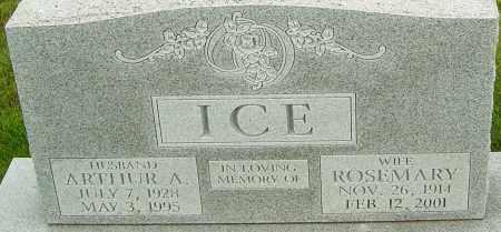 ICE, ROSEMARY - Franklin County, Ohio   ROSEMARY ICE - Ohio Gravestone Photos