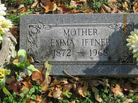 BRANDENBERGER IFTNER, EMMA MARGARETHA - Franklin County, Ohio | EMMA MARGARETHA BRANDENBERGER IFTNER - Ohio Gravestone Photos