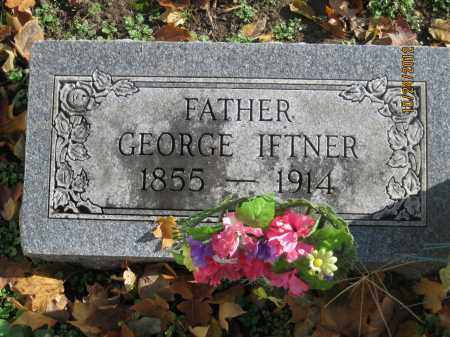 IFTNER, GEORGE EDWARD JR - Franklin County, Ohio | GEORGE EDWARD JR IFTNER - Ohio Gravestone Photos