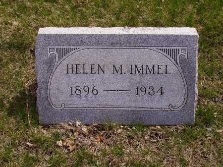 IMMEL, HELEN M. - Franklin County, Ohio | HELEN M. IMMEL - Ohio Gravestone Photos
