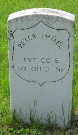 IMMEL, PETER - Franklin County, Ohio | PETER IMMEL - Ohio Gravestone Photos