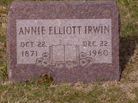 IRWIN, ANNIE - Franklin County, Ohio | ANNIE IRWIN - Ohio Gravestone Photos