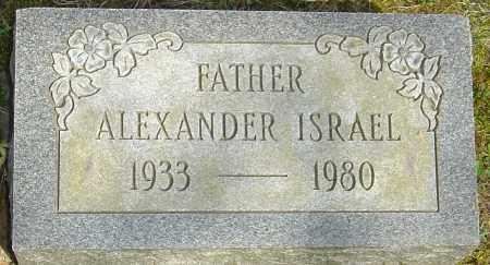 ISRAEL, ALEXANDER - Franklin County, Ohio | ALEXANDER ISRAEL - Ohio Gravestone Photos