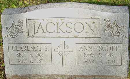 SCOTT JACKSON, ANNE - Franklin County, Ohio | ANNE SCOTT JACKSON - Ohio Gravestone Photos