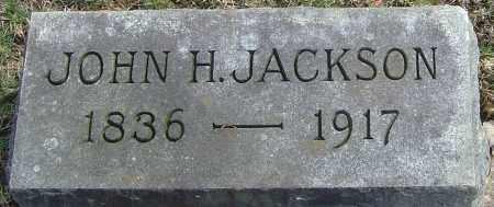 JACKSON, JOHN H - Franklin County, Ohio | JOHN H JACKSON - Ohio Gravestone Photos