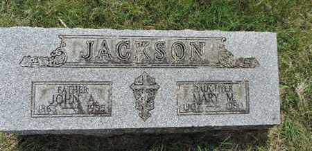 JACKSON, MARY M. - Franklin County, Ohio | MARY M. JACKSON - Ohio Gravestone Photos