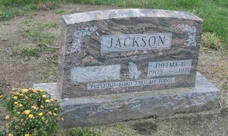 JACKSON, THELMA G - Franklin County, Ohio | THELMA G JACKSON - Ohio Gravestone Photos