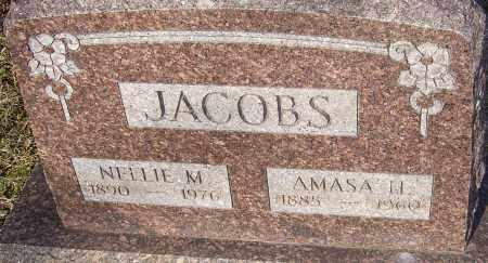JACOBS, AMASA H - Franklin County, Ohio | AMASA H JACOBS - Ohio Gravestone Photos
