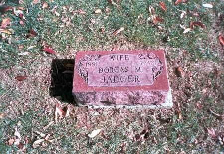 JAEGER, DORCAS M. - Franklin County, Ohio | DORCAS M. JAEGER - Ohio Gravestone Photos