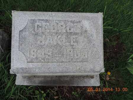 JAKLE, GEORGE - Franklin County, Ohio | GEORGE JAKLE - Ohio Gravestone Photos