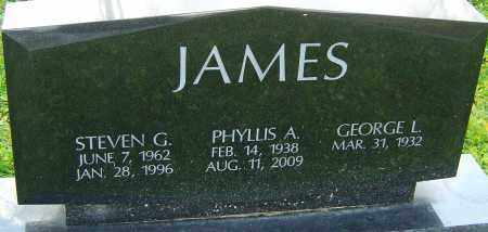 JAMES, STEVEN G - Franklin County, Ohio | STEVEN G JAMES - Ohio Gravestone Photos