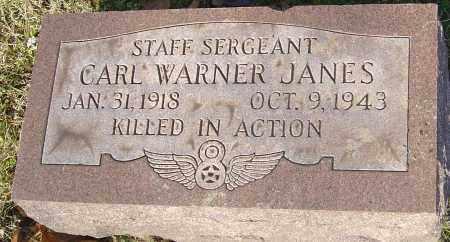 JANES, CARL WARNER - Franklin County, Ohio | CARL WARNER JANES - Ohio Gravestone Photos
