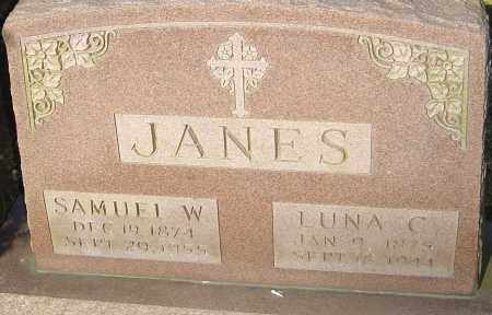 JANES, LUNA C - Franklin County, Ohio | LUNA C JANES - Ohio Gravestone Photos