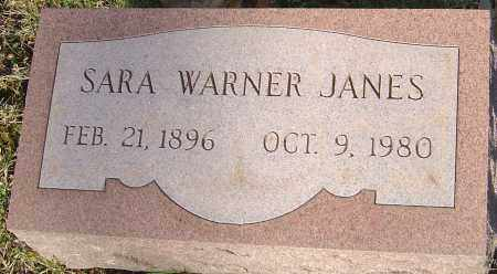 WARNER JANES, SARA - Franklin County, Ohio | SARA WARNER JANES - Ohio Gravestone Photos