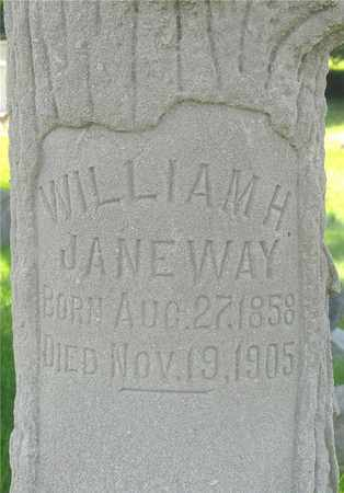 JANEWAY, WILLIAM H. - Franklin County, Ohio | WILLIAM H. JANEWAY - Ohio Gravestone Photos