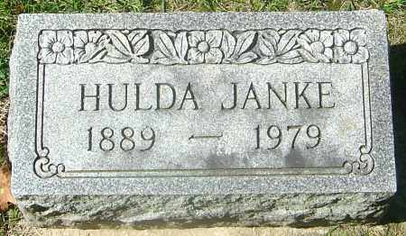 JANKE, HULDA - Franklin County, Ohio | HULDA JANKE - Ohio Gravestone Photos