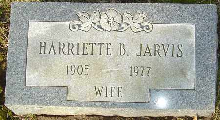 JARVIS, HARRIETTE B - Franklin County, Ohio | HARRIETTE B JARVIS - Ohio Gravestone Photos