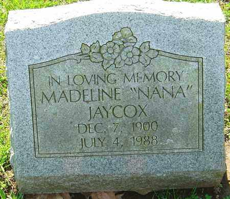 JAYCOX, MADELINE - Franklin County, Ohio | MADELINE JAYCOX - Ohio Gravestone Photos