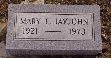 JAYJOHN, MARY E. - Franklin County, Ohio | MARY E. JAYJOHN - Ohio Gravestone Photos