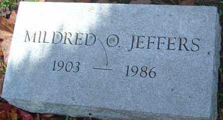 JEFFERS, MILDRED O - Franklin County, Ohio   MILDRED O JEFFERS - Ohio Gravestone Photos