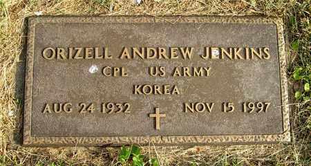 JENKINS, ORIZELL ANDREW - Franklin County, Ohio | ORIZELL ANDREW JENKINS - Ohio Gravestone Photos