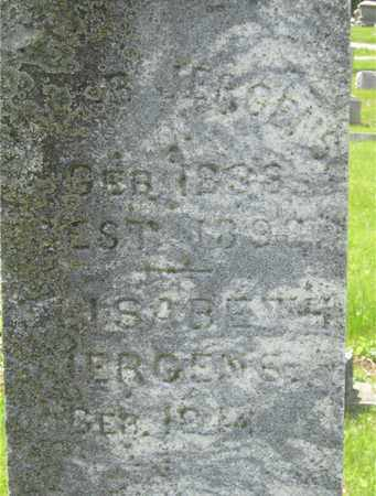 JERGENS, ELISABETH - Franklin County, Ohio | ELISABETH JERGENS - Ohio Gravestone Photos